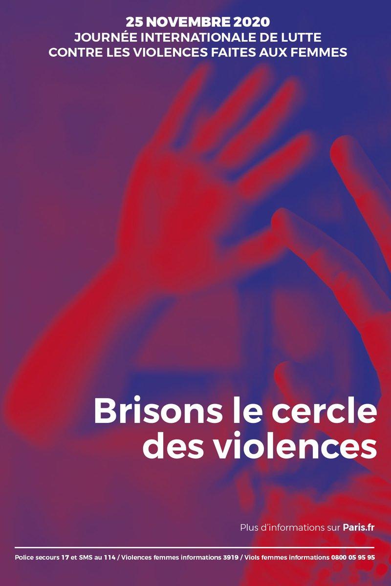 [THREAD]  #25Novembre - Brisons le cercle des violences !  La Mairie de #ParisCentre et l'ensemble de l'équipe municipale se mobilisent contre les violences sexistes et sexuelles.  Écoute et orientation : appelez le 3919.