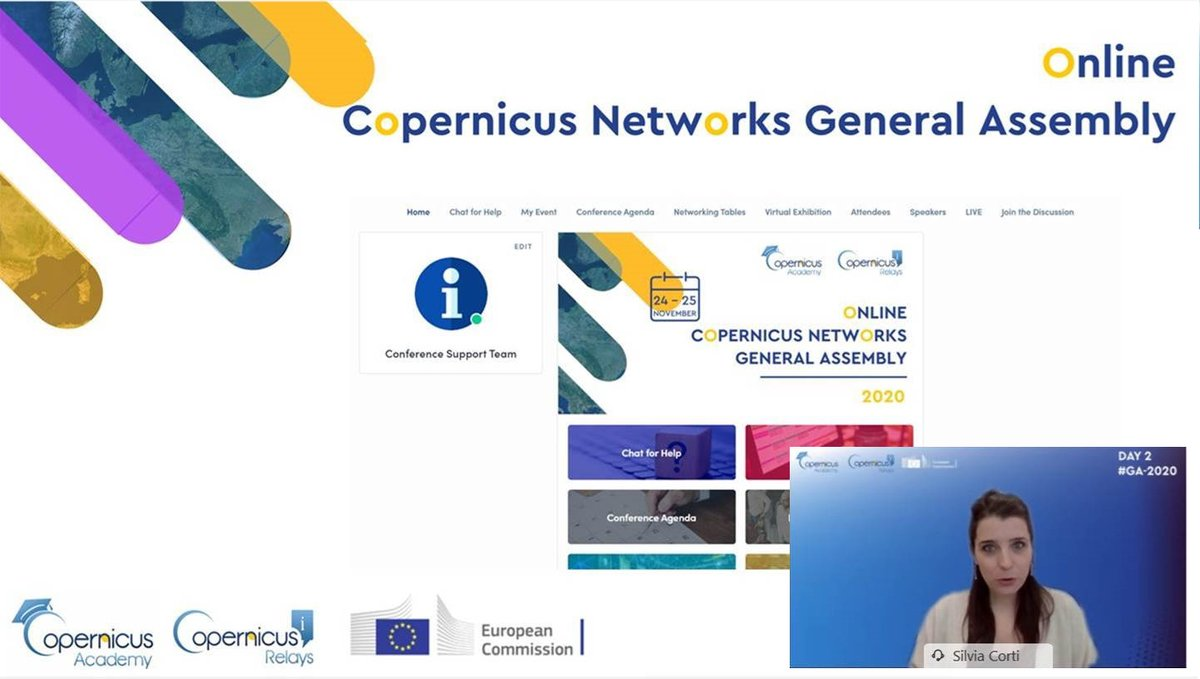 Day 2 of the General Assembly of the #Copernicus Relays and Academies has just started! Another day of insights on the #EUSpace programme, full of exchange, learning & networking! We wish all participants a successful event!
