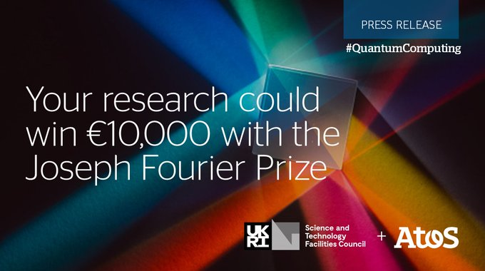 Don't miss your opportunity to win €10,000 for your #QuantumComputing research. To find...