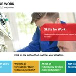 Image for the Tweet beginning: Skills for Work combines the