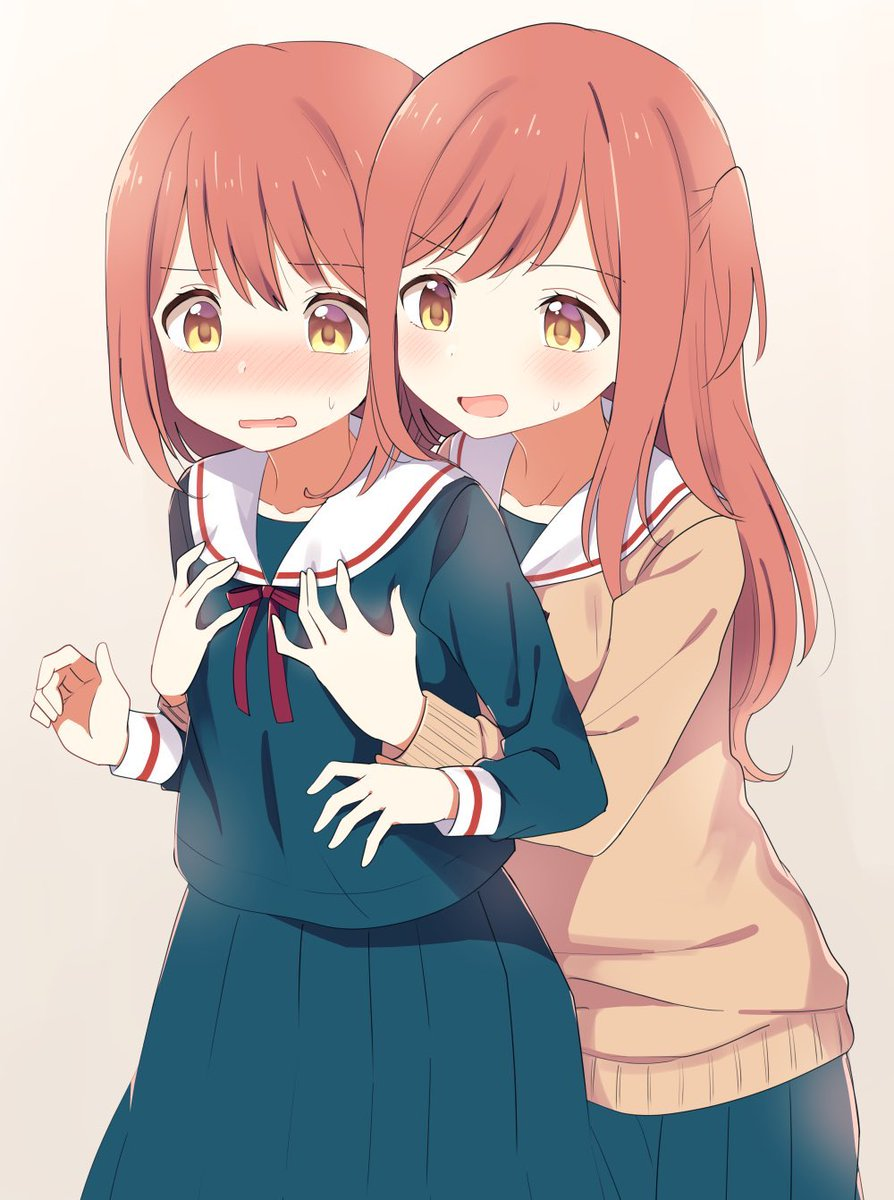 いい双子の日らしいので『両片想いな双子姉妹』もよろしければ…双子百合です…。
