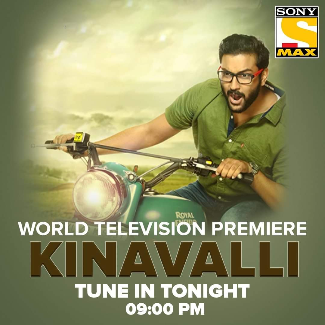 Kya Ann ka surprise padega Vivek ke friends par bhaari? To know, watch the World Television Premiere of Kinavalli tonight at 9 PM only on Sony MAX. #KinavalliOnSonyMAX