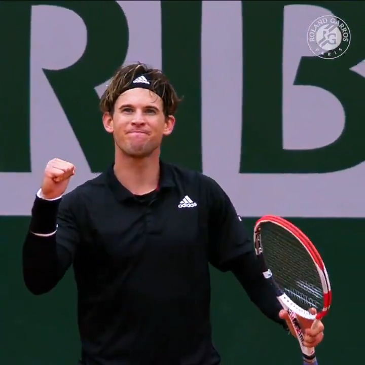 .@ThiemDomi has played some great tennis this season 🤩  Enjoy 5⃣ of his best shots from Roland-Garros 2020  #RolandGarros