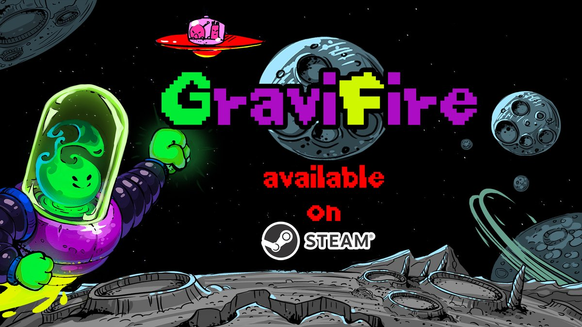 GraviFire available on Steam with 20% discount!  GraviFire is a logic game that mixes the mechanics of movement and gravity.  https://t.co/FB3NMsmYVT #indiegamedev #gamedev #indiedev #indie #indiegames #indiegame  #IndieGameDev  #madewithunity #pixelart #indiedevhour https://t.co/2zbLXpUwfa