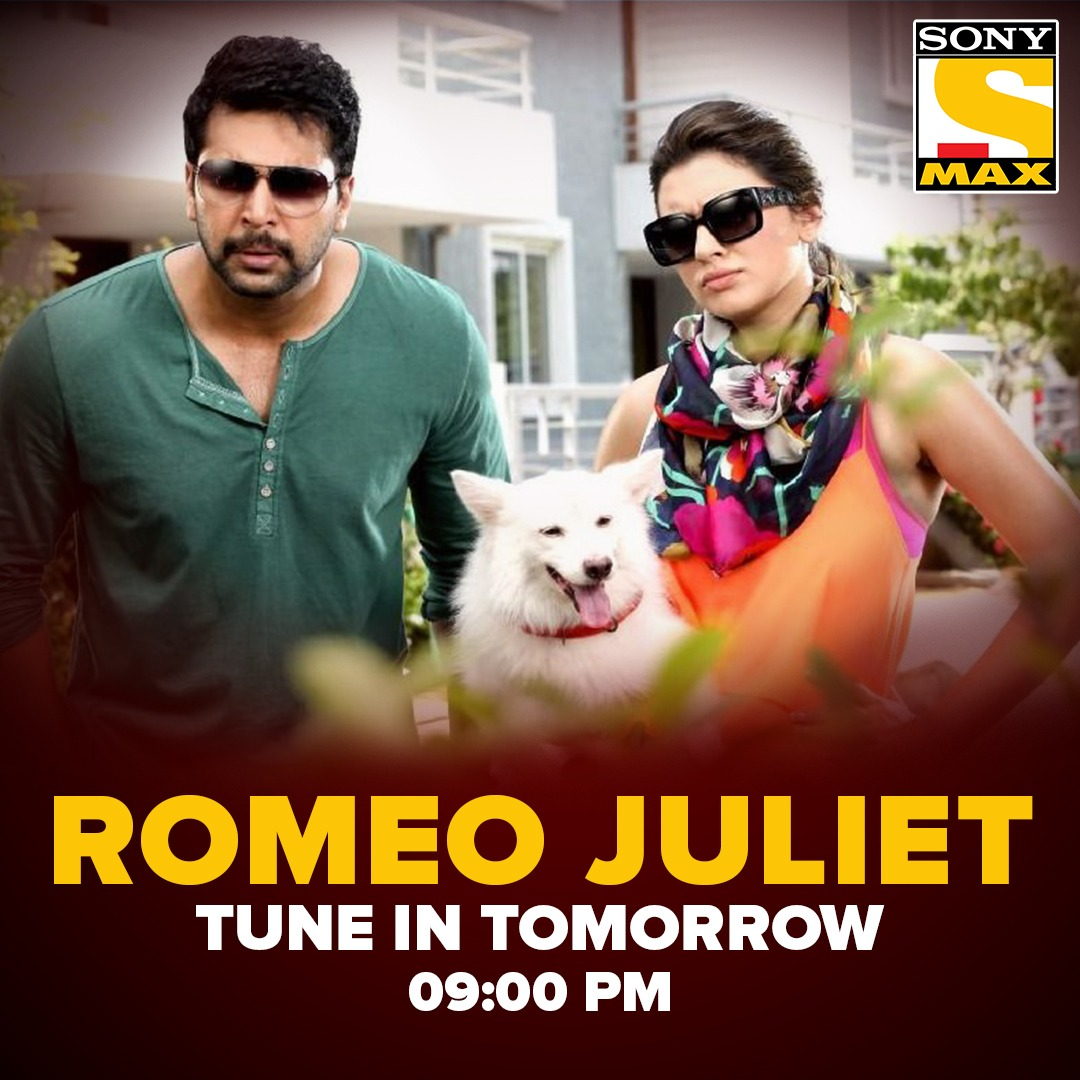 Ho jao taiyyar for Aishwarya and Karthik's twisted love story! Watch 'Romeo Juliet', tomorrow at 9 PM, only on Sony MAX. #RomeoJulietOnSonyMAX