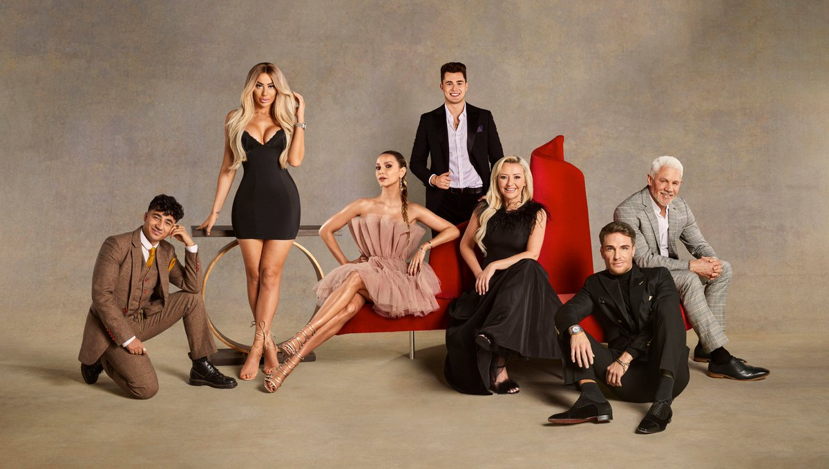 Celebs Go Dating is back 💕 but what happens when we put single celebs Chloe Ferry, Curtis Pritchard, Karim Zeroual, Kimberly Hart-Simpson, Sophie Hermann, Tom Zanetti and Wayne Lineker into a swanky mansion with potential matches - coming soon @E4Tweets