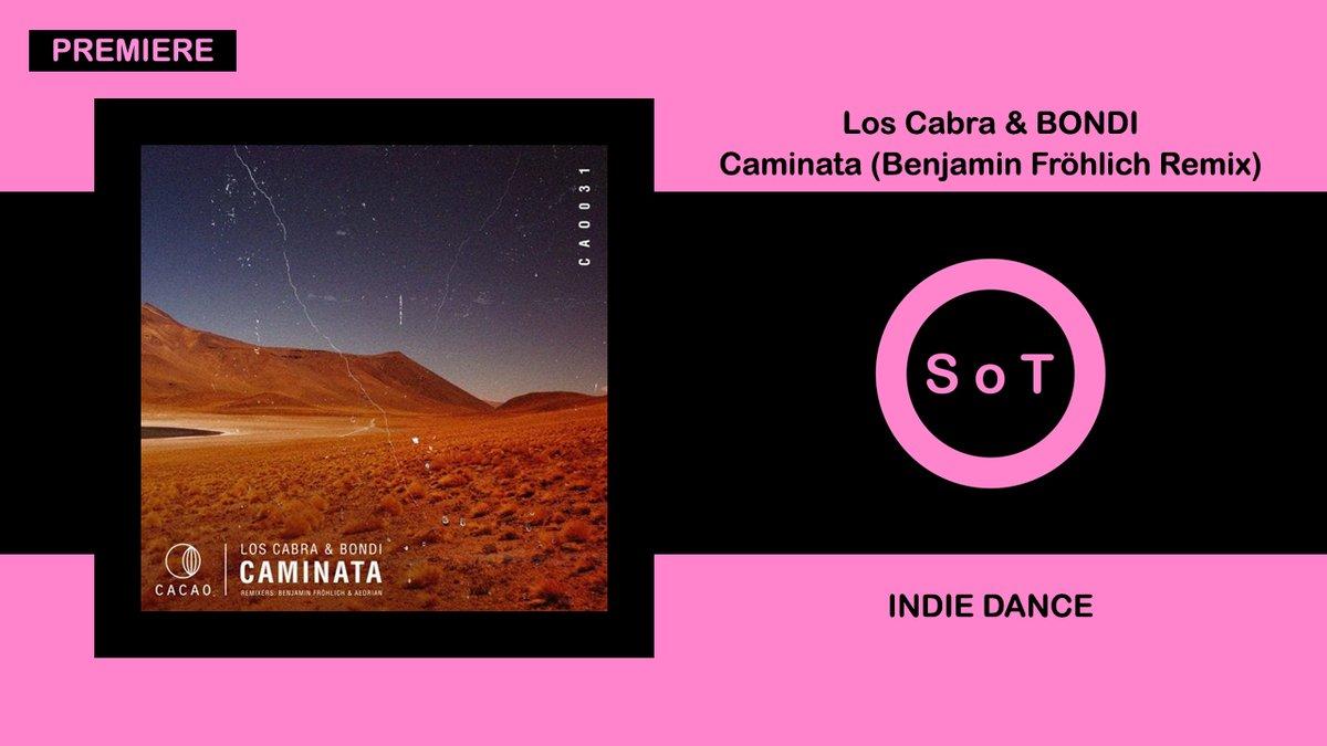 Los Cabra & BONDI - Caminata (Benjamin Fröhlich Remix) [PREMIERE] [Indie Dance] [Cacao Records]  Listen it on YouTube ☞ https://t.co/k5P0kwo2VX  #loscabra #bondi #caminata #benjaminfrohlich #remix #premiere #cacaorecords #indiedance #indie #dance  #melodichouse #indiedancemix https://t.co/3Co8bfDoFu