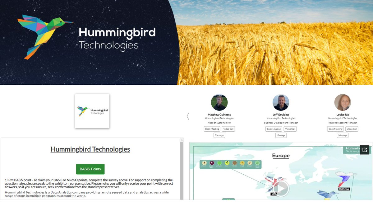 .@TechHummingbird utilise AI and machine learning algorithms to increase yields, optimise chemical inputs and help managers make more informed decisions! 🛰️  Find out how Hummingbird can help your arable business: https://t.co/gRQ3k6uLe2 https://t.co/LdkNNu1Srp