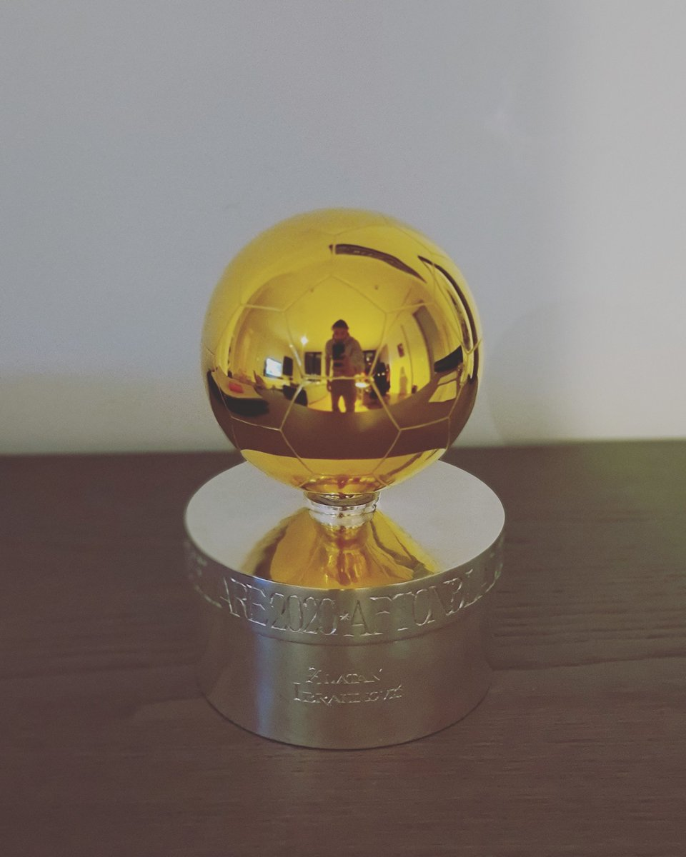 Fansens Guldboll Nr 12