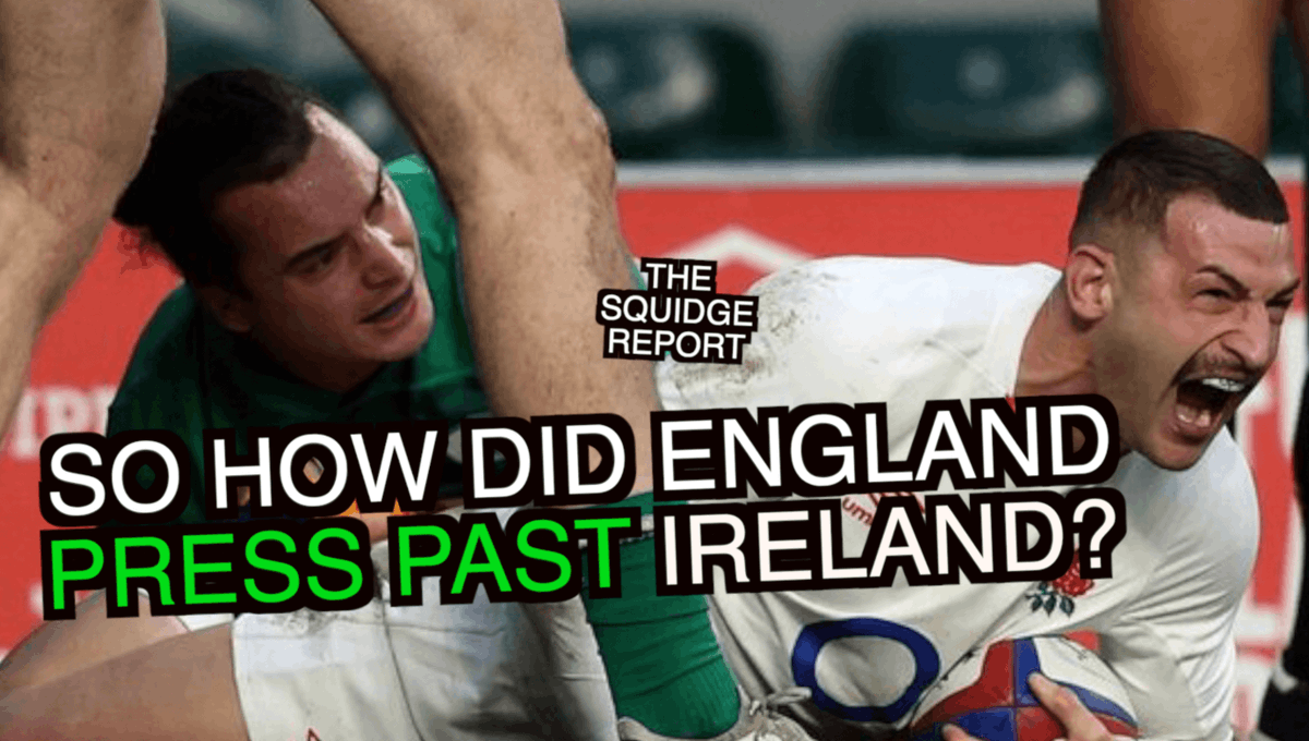 NEW VIDEO: This weekend, England took control of their Autumn Nations Cup pool as they pressed past an Ireland team who couldn't fire many shots. So how did England shut them down, and what's up with Ireland? https://t.co/fKHp0WDLQ7 https://t.co/XBg35DQWV6