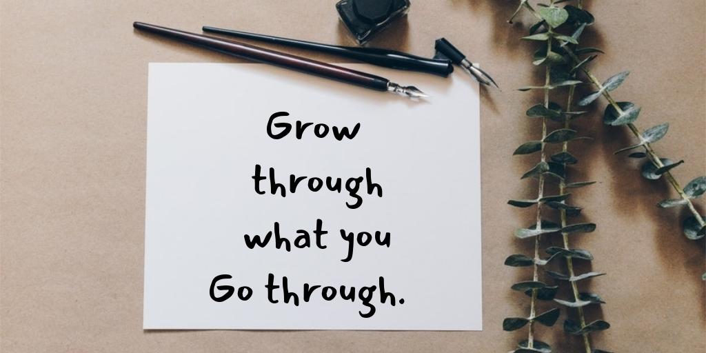 Reminder : Grow through what you Go through.   #WednesdayMotivation #quote #success #MotivationalQuotes https://t.co/jUpJek3FHk