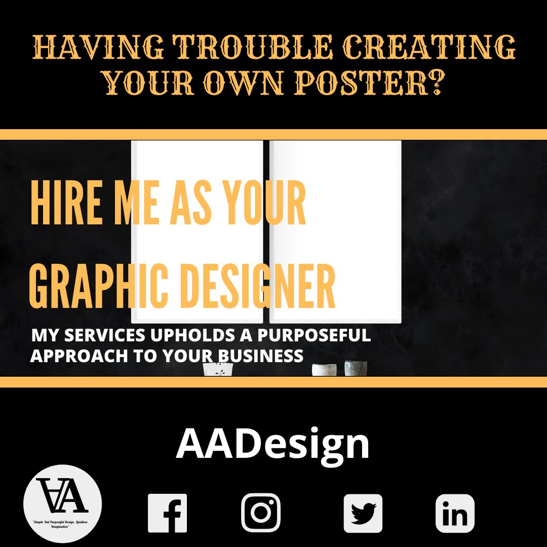 if you're looking for someone to create your flyers send us message in our social media accounts https://t.co/39YBo8feh8 https://t.co/PTG1KZmag3 https://t.co/b8WYQkbbCX  https://t.co/at6kV9wLjd  #AADESIGN #GraphicDesigner #Branding #Logo BrandingKit https://t.co/C3NsRDAcEK