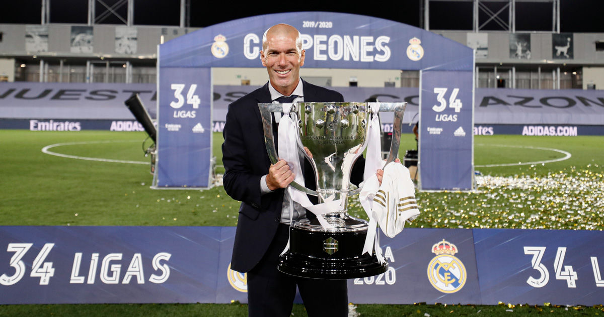 👔👏 The boss! Zidane is one of five candidates for #TheBest FIFA Men's Coach award! #HalaMadrid