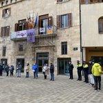 Image for the Tweet beginning: #ARAMATEIX acte central a #Tàrrega
