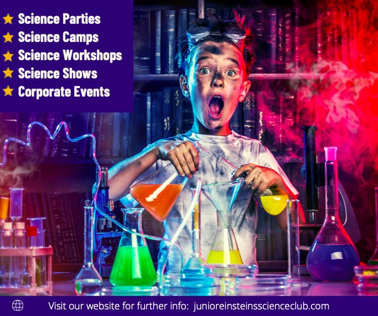 Science parties, science camps, workshops, school shows, corporate events & family festivals!   junioreinsteinsmeath@gmail.com https://t.co/3DLPqcqyTm  #STEM #science #education #kidsSTEM #STEMforkids #events #funevents #westmeath #meath #supportbusiness #irishbusiness #ireland https://t.co/pOocHdcVi4