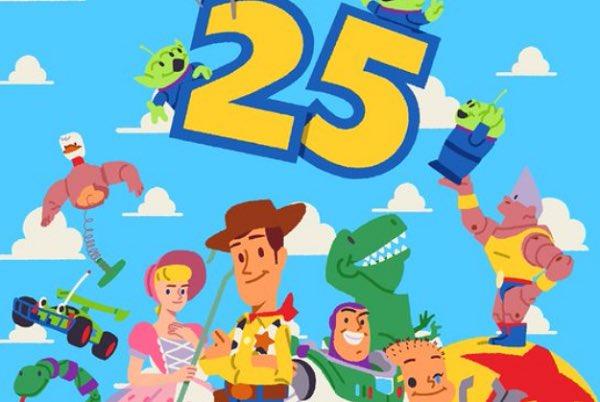 25! 😅😅😅 tibit bu kadar... #ToyStory25  🎂