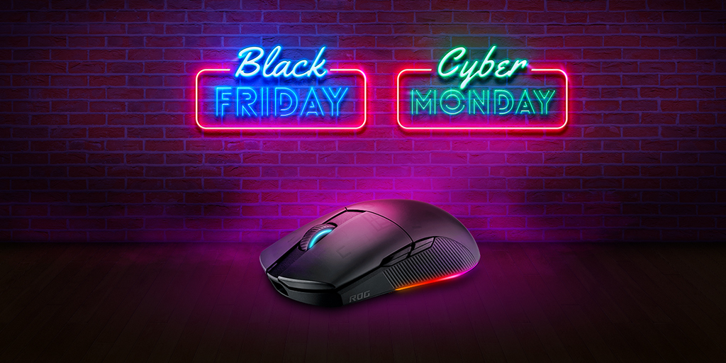 ASUSROG_UK - Hmm, lightweight and wireless?🖱️  Almost too appealing to not grab it😏  We got the ROG Pugio II looking like a perfect upgrade!  Find all our #BlackFridayDeals here: