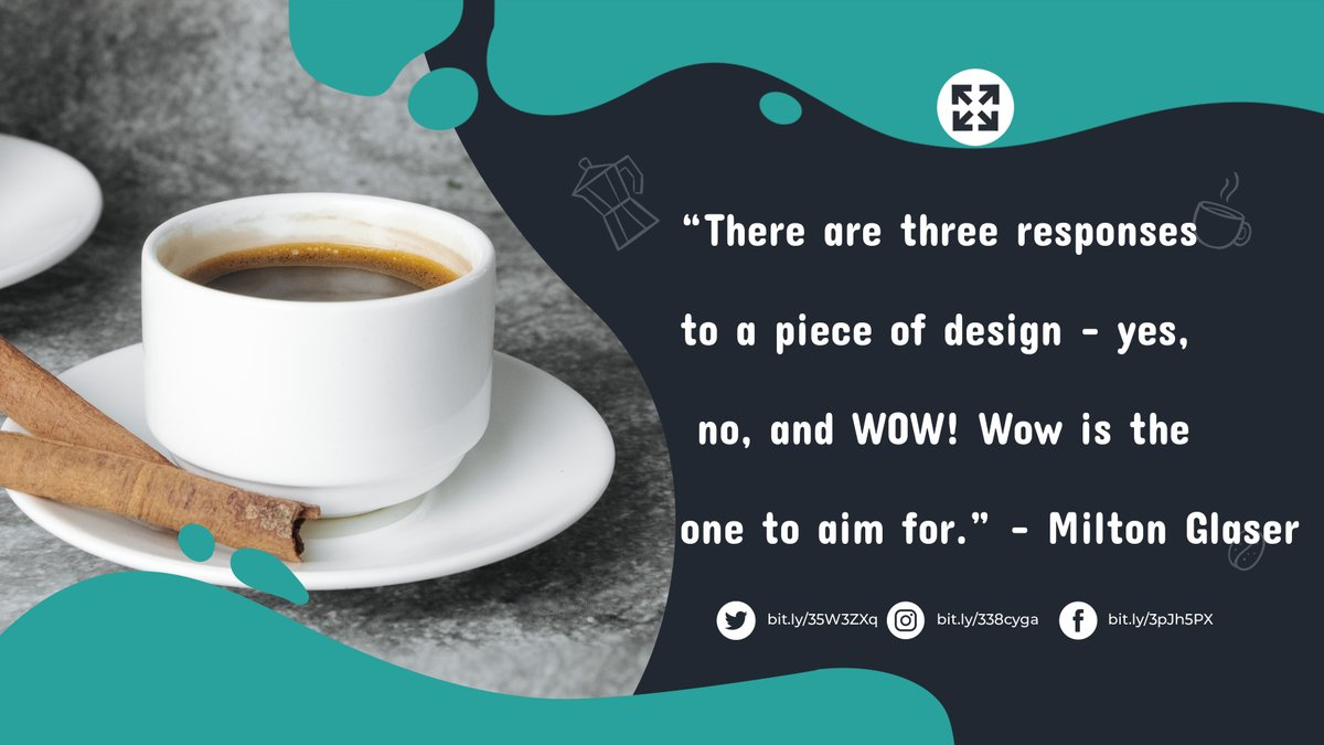 Design is not about pictures placed together and arranged in a way that creates a story. Design is about creating harmony among the elements and having them come together in a final product that is unequivocally outstanding. #VA #virtualassistant #GraphicDesign https://t.co/qWFUv3cOTh