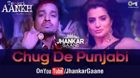 Enjoy listening to the Jhankar version of @ameesha_patel & @jazzyb's hit #Punjabi song, #ChugDePunjabi from the film #TeesriAankh here:   #JhankarGaane #JazzyB #AmeeshaPatel