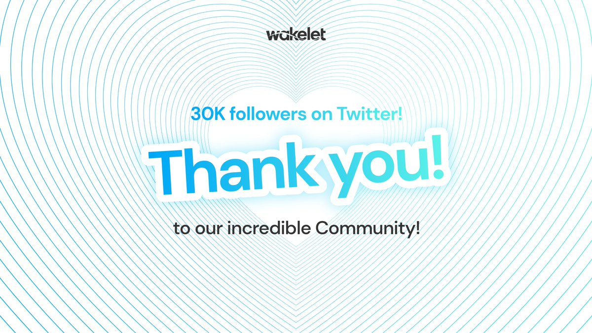 We're about to hit 30k followers - to say THANK YOU for our Community's amazing support, we're giving away 5️⃣ Wakelet Hoodies!🔥😎  ReTweet this post, tag a friend, and include #WakeletWave to be in with a chance. We'll also give a prize to our 30,000th follower! https://t.co/qJef4JkX04