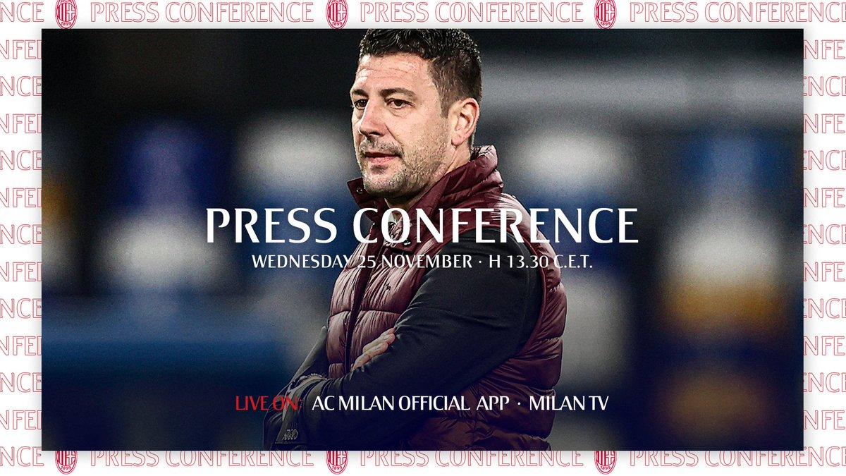 🗣️ Daniele Bonera and @IsmaelBennacer talk to the press ahead of our #UEL match, live on the app    📲    🗣️ Segui la conferenza stampa alla vigilia di #LOSCMilan, LIVE sulla nostra app   #SempreMilan