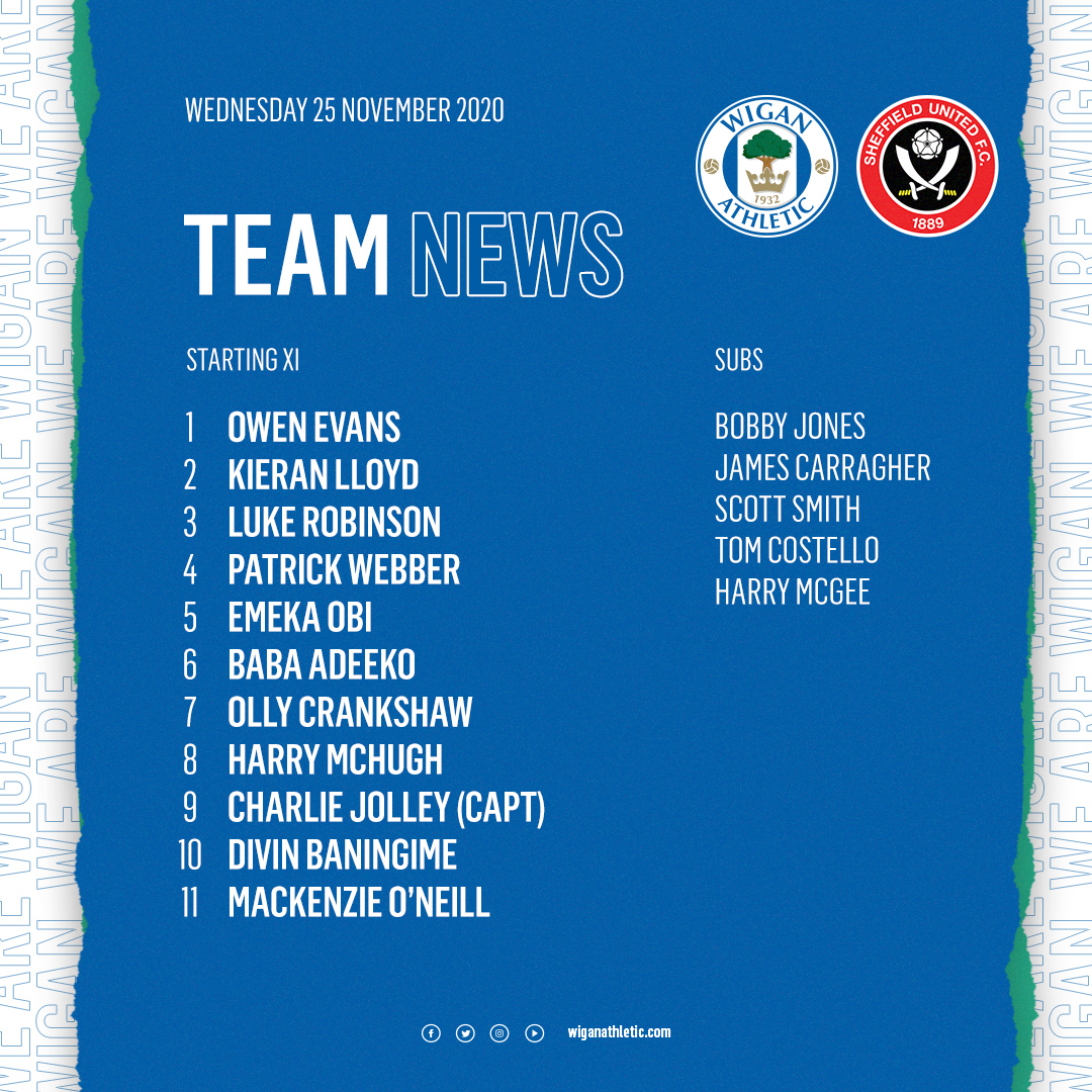 🗞️ Today's U23 team to take on @sufcdevelopment   👏 Nice to see @ScottSmith_6 back involved following a shoulder injury!  ⏱️ 1.00pm kick off 📱 Key updates throughout  #wafc 🔵⚪️
