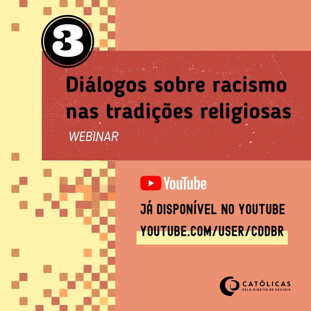 """Confira o """"Diálogos sobre racismo nas tradições religiosas"""", webinar que reuniu integrantes de diversas comunidades de fé p/ refletir sobre a presença do #racismo nas religiões. O 3º encontro teve a participação de @ronilso_pacheco:  #DiadaConscienciaNegra"""