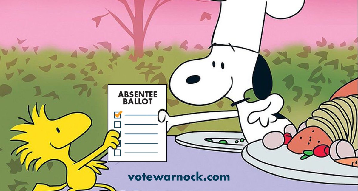 It's a great day to request your absentee ballot: