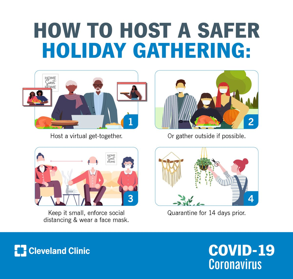 With the ongoing coronavirus (COVID-19) pandemic, holiday plans are going to look a lot different than usual. https://t.co/m5Zz5gavUh https://t.co/tV8T94GWjJ