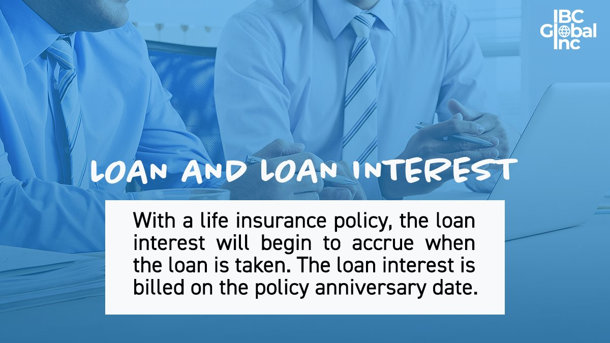 #WednesdayWisdom With a life insurance policy, the loan interest will begin to accrue when the loan is taken. The loan interest is billed on the policy anniversary date.  #InfiniteBanking #Finance #IBC #LifeInsurance