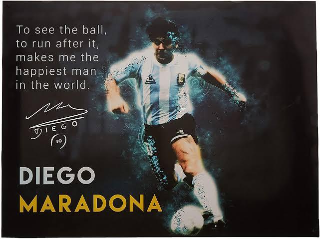 RIP Maradona.....arguably the greatest footballer of all time! #Maradona #GOAT https://t.co/W8PrHhFXwo