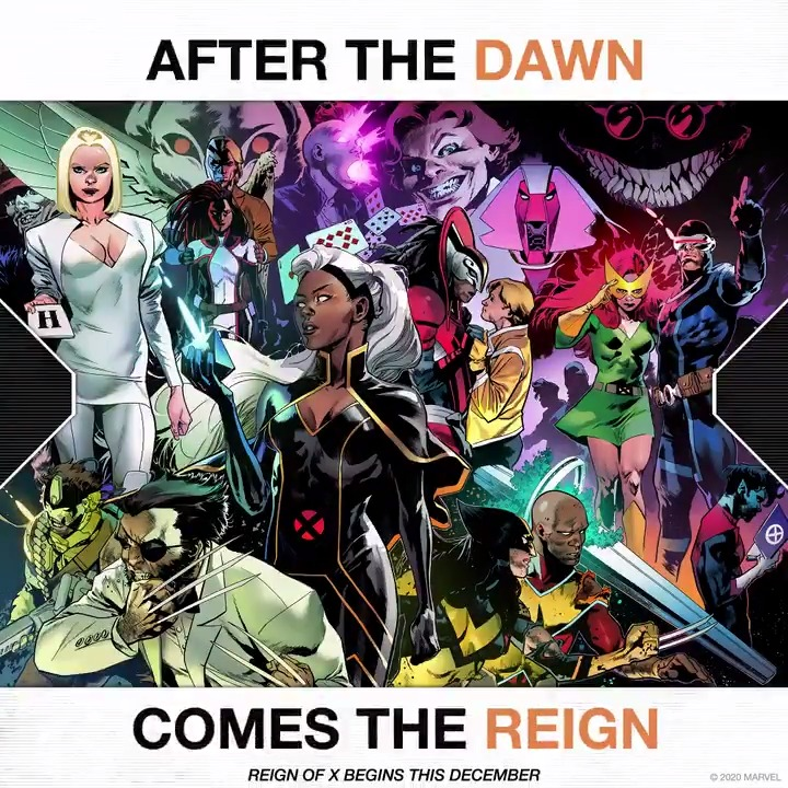 After the dawn comes the reign. The Reign of X begins this December. ❌: bit.ly/3m599q0