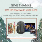 Image for the Tweet beginning: Give thanks sale! 10% off