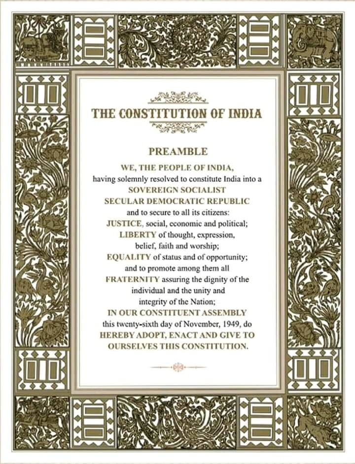 November 26 Indian constitution day