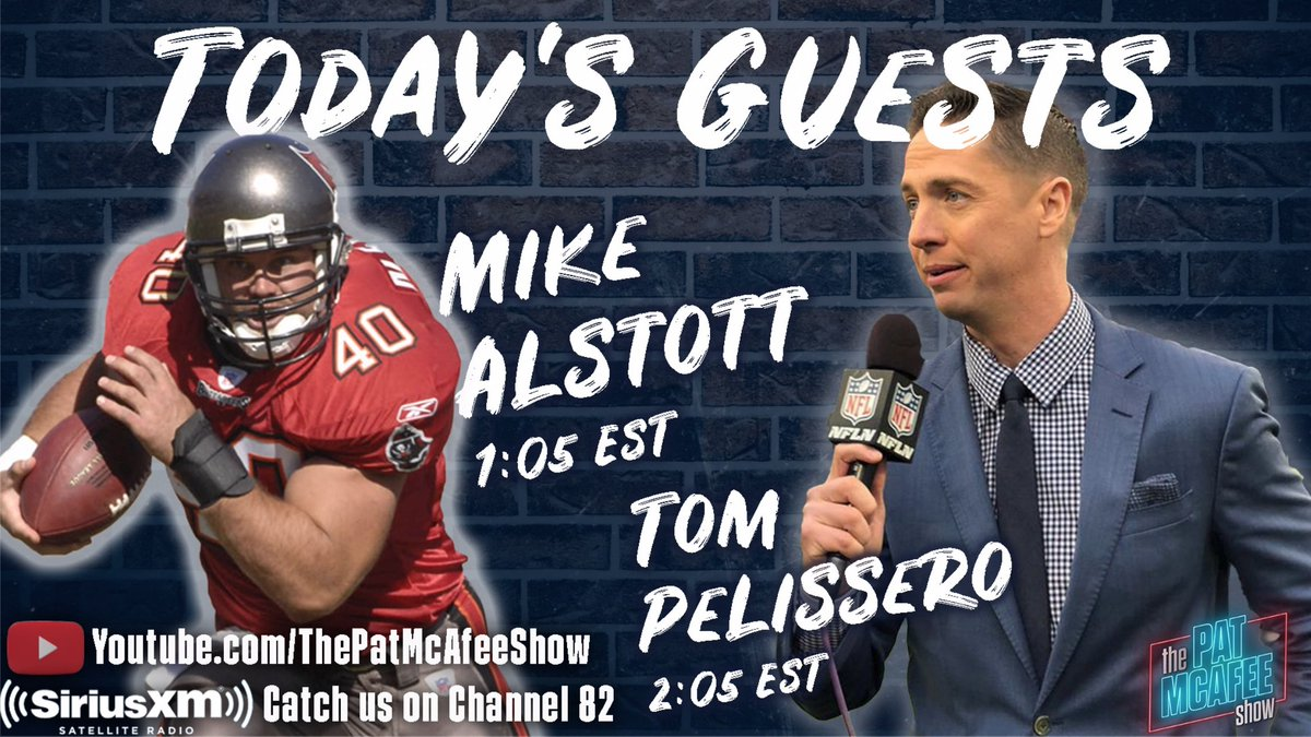 We're also being joined by an NFL insider legend @TomPelissero.. Let's chat #PatMcAfeeShowLIVE    Watch LIVE~>  Listen LIVE ~>   @MadDogRadio ~> 📞 888-623-3646