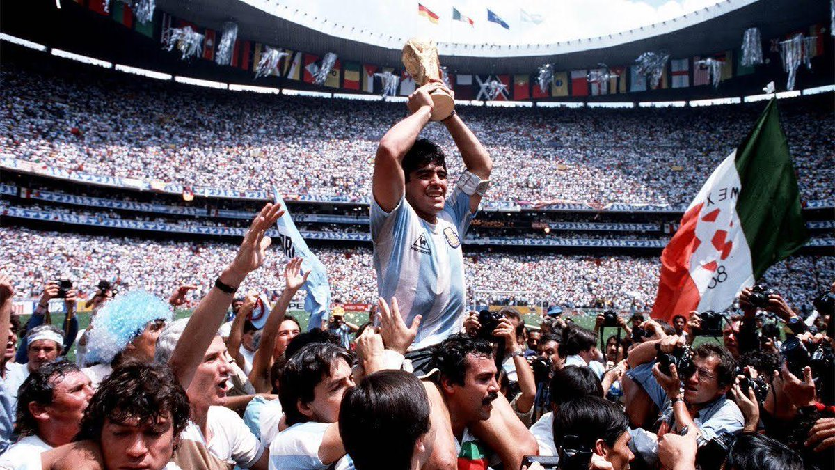 Football and the world of sports has lost one of its greatest players today. Rest in Peace Diego Maradona!  You shall be missed.
