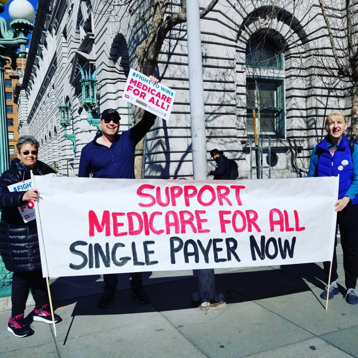 @BernieSanders We need #MedicareForAll!