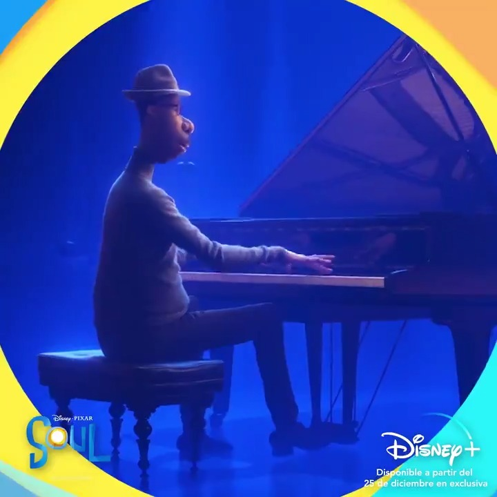 Falta un mes para viajar a donde nadie ha llegado nunca antes de la mano de #PixarSoul. En exclusiva el 25 de diciembre en #DisneyPlus 🎄🎶✨