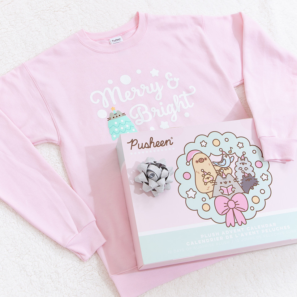 Make your holiday list and dont forget to check it twice because youre going to want ALL the #Pusheen goodies! 😻 bit.ly/3pYsZW9