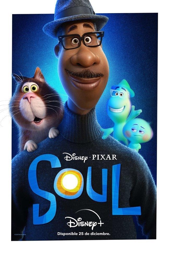 Falta un mes para viajar a donde nadie ha llegado nunca antes de la mano de #PixarSoul. En exclusiva el 25 de diciembre en @DisneyPlusES (#DisneyPlus) 🎄🎶✨