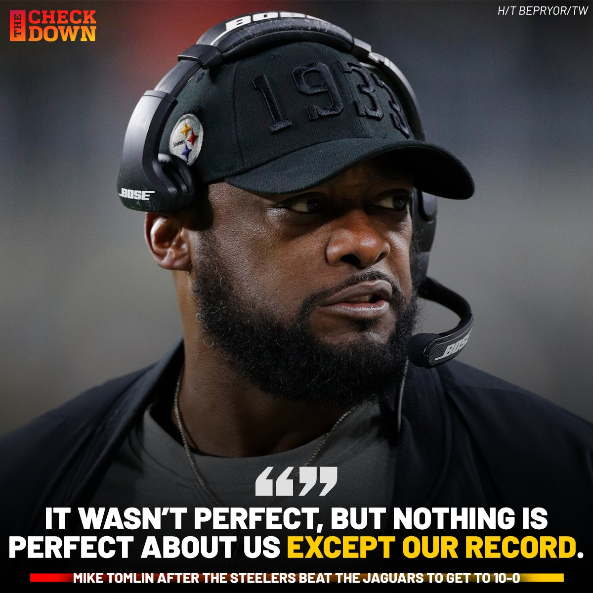 Mike Tomlin been talking that talk 🗣️ @steelers