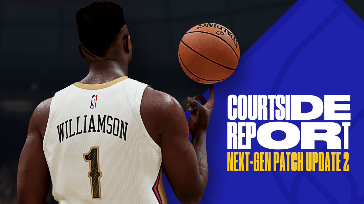 Next Gen Patch Update #2 is LIVE  🔋 Option to change Shot Meter color 🏙 Major improvements to The City 📉 Less frequent contact dunks 🏀 MyCAREER, MyNBA + The W fixes 👤 More player likeness updates  Full Patch Notes 👉 https://t.co/QzMDfhgU13 https://t.co/qDbO0Qa8xz