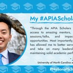 Image for the Tweet beginning: Continuing our celebration of #NationalScholarshipMonth,