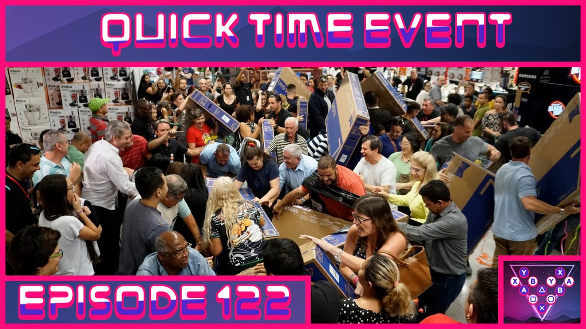 The Best Black Friday 2020 Gaming Deals - The Quick Time Event Podcast Ep. 122  YouTube - https://t.co/PHKKVAxUF4 Twitch - https://t.co/i6IvJ2JLH5 Spotify - https://t.co/PRa83183d8 iTunes - https://t.co/sPBd9mNSD9 Google - https://t.co/K1S9OphmG8  #BlackFriday #xbox #xcloud https://t.co/olUCtHo4jI
