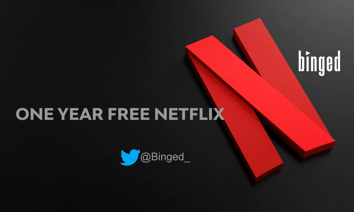 Win ONE YEAR #Netflix absolutely FREE @Binged_ 🔥  To Enter:    Follow @Binged_                  - RETWEET - and TAG at least one friend  Winner Declaration- 5th December, 9 pm! #BingedContest
