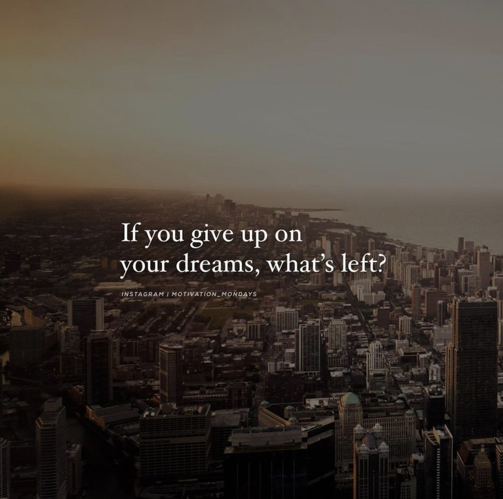 This for anyone who woke up today 2nd guessing they selves and about to give up on there dream.  #wednesdaythought #WednesdayMotivation #WednesdayWisdom