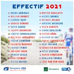Image for the Tweet beginning: Notre effectif 2021 comptera 30