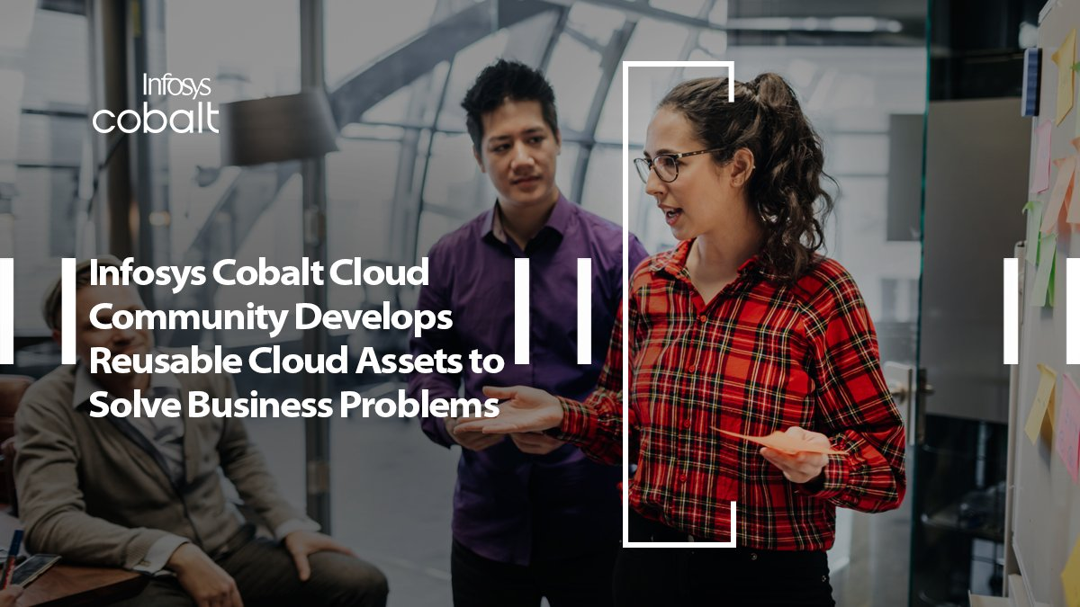 Infosys creates #InfosysCobalt #Cloud Community develops reusable cloud assets to solve business problems writes John Laherty, Senior Research Analyst, @NHInsight in his blog https://t.co/2qNGzuyood https://t.co/XwNm2ELHcD