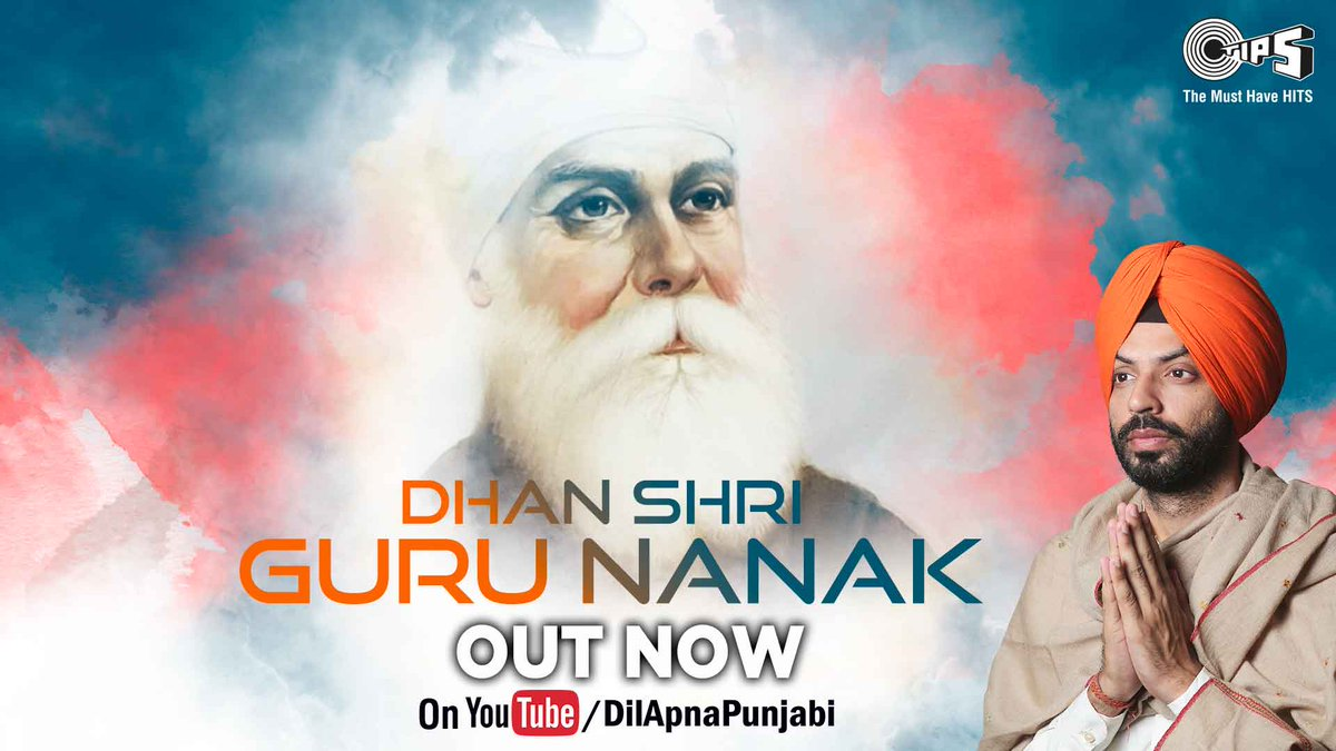 "This #GuruNanakJayanti, presenting the divine bhajan ""Dhan Shri Guru Nanak"" in the soulful voice of @jashantweets, composed by #JohnyyVick. Out Now on   @tipsofficial Dil Apna Punjabi @YouTubeIndia #DhanGuruNanak #GuruNanak  Watch Full Divine Song:"
