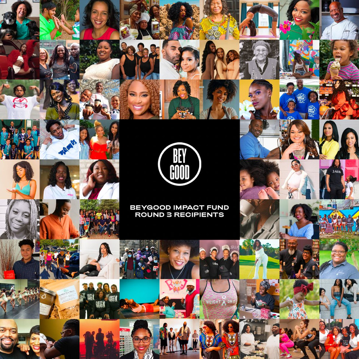 We are delighted to bring this Thanksgiving joy to over 100 Black-Owned Small Businesses who will receive $10k grants from Beyoncé's BeyGOOD Impact Fund.   Visit  to see the full list of recipients and to support Black Businesses.